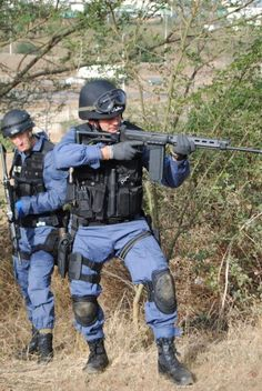 South African Police Service - Training