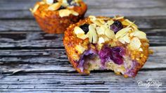 ComfyDays: Delicious and healthy blueberry muffins