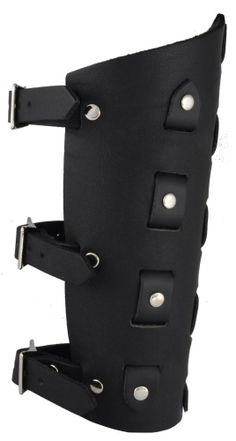 Leather riveted gauntlet - Leather Gauntlets