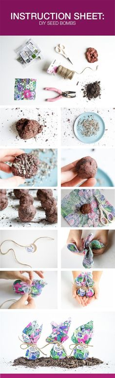 DIY Seed Bombs for Earth Day - Natural Vitality Living. Check out that cool T-Shirt here: https://www.sunfrog.com/Holidays/Make-Everyday-Earth-Day.html?53507