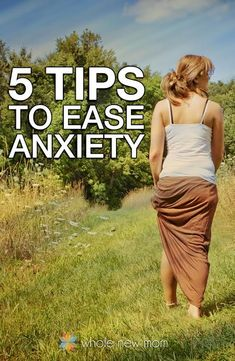 Got anxiety? Here are 5 Easy Natural Remedies for Anxiety to help you deal with it right now. Relief is on the way! #anxietyremedies
