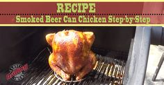 Smoked Beer Can Chicken Step-by-Step