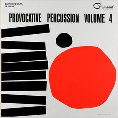 Command Records RS 834 SD, Enoch Light: Provocative Percussion Volume 4, 1962, Cover Art by Charles E. Murphy::