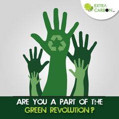 Say #Yes, if you are a part of the #Green revolution! If not, come join us and become a part of it: http://www.extracarbon.com/