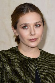 Elizabeth Olsen – Christian Dior Fashion Show in Paris – January 2015