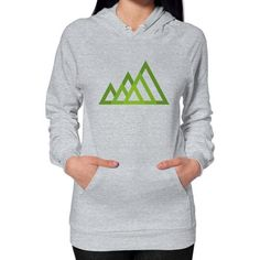 Mountains Hoodie (on woman) Shirt