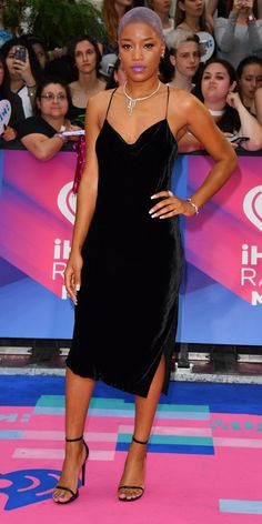 All the Stars Dressed for Summer at the iHeartRadio MuchMusic Video Awards - Keke Palmer from InStyle.com