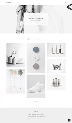 Vinero is a wonderful #portfolio #WordPress #theme focused on minimalism, elegance and simplicity with masonry portfolio grid website download now➩ https://themeforest.net/item/vinero-very-clean-and-minimal-portfolio-wordpress-theme/16796397?ref=Datasata