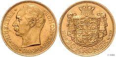 Frederik VIII., 1906-1912, 20 Kronen, Gold, 1909 VBP, Schön 18, Schlumberger 76, minimale Randunebenheiten, vorzüglich.  Dealer HBA  Auction Minimum Bid: 240.00EUR