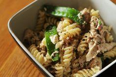 chicken bacon and mushroom pasta