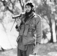 A Mujahideen fighter shoulders a Soviet built SGM. RPG launcher. (Collection of David Isby Jim Graves), pin by Paolo Marzioli