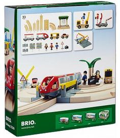 BRIO 33209 - Circuito tren ciudad de juguete