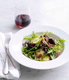 Australian Gourmet Traveller masterclass on duck confit with a recipe for duck confit, beetroot and green bean salad.