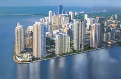 Carbonell affords you the privilege of living in Brickell Key, The small Downtown Miami most paradisiac Island.