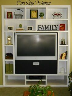 DIY: Entertainment Center for the bedroom