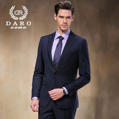 2015 Fashion New Blazer Men Brand Quality Suits MenSpring&Autumn Outerwear Casual Suit mazarine suit DropFree Shipping DR8618-2#