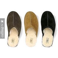 セレブ愛用者多数☆UGG Australia☆ For Men SCUFF - SUEDE