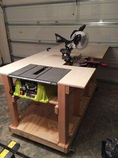 diy workbench album on imgur - Rolling Workbench