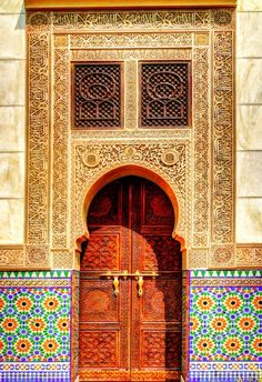 Islamic architecture in Morocco • photo: Alam Jr on 500px