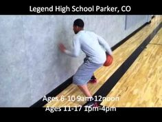 Ty Lawson Basketball Camp Wall Ball w/ Nick Graham - YouTube