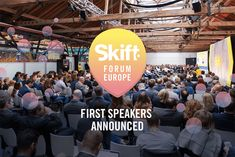 First Look at the Speakers to Join Skift Forum Europe  Skift Take: Who's speaking at our second annual Skift Forum Europe? Today we reveal a first look!   Rafat Ali  Here at Skift HQ we wanted to start the New Year off with a bang  Thats why today we are thrilled to announceour first batch of confirmed speakers for Skift Forum Europe happening on April 26th 2018 at Cafe Moskau Berlin.  Register Now To Hear From These Speakers  Like our inaugural European event our 2018 Forum stage will be…