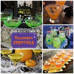 Halloween Cocktails  http://atozebracelebrations.com/2013/09/adult-halloween-cocktails.html