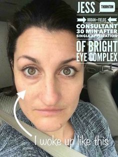 Rodan + Fields    ACTIVE HYDRATION BRIGHT EYE COMPLEX:   A perfect compliment to our Multi-Function Eye Cream and reduce puffy eyes and enhance the soft skin under the eye to BRIGHTEN your eye area!!   Let me help you put your best face forward !  Shop