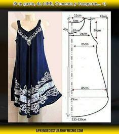 Outfits For Teens, Girl Outfits, Fashion Outfits, Stylish Kurtis Design, Crochet Bikini Pattern, Dress Sewing Patterns, Knitting Designs, Pattern Fashion, Sewing Tutorials