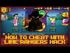 How to cheat with Line Rangers HACK 2.5.1 [ tutorial ] - YouTube