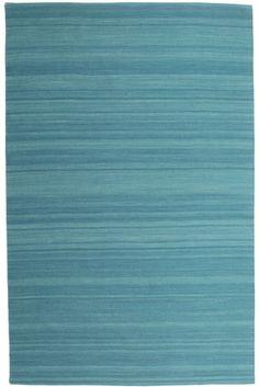 Kelim Loom - Donkerblauw tapijt CVD14896