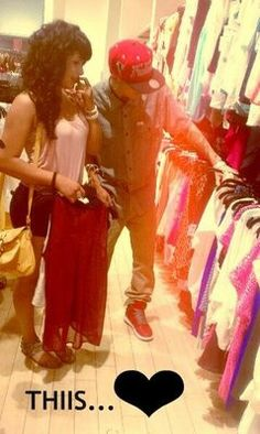 Shoping with you boyfriend c: