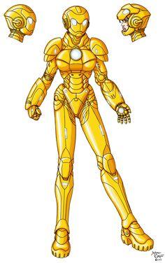 Gold Guardian 3-2 by InputJack on deviantART
