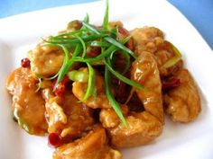 Chinese Food Recipes 中餐食谱: General Tso's Chicken Recipe Easy Chinese Recipes, Asian Recipes, Asian Foods, Easy Recipes, Copycat Recipes, Cooking Chinese Food, Asian Cooking, Healthy Eating Recipes, Cooking Recipes