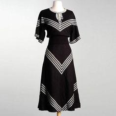 '70s Wenjilli Sweater & Skirt
