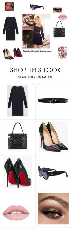 """""""LC"""" by handlethisstyle ❤ liked on Polyvore featuring Lauren Ralph Lauren, Chanel, Christian Louboutin and L.A. Girl"""
