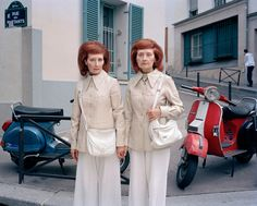 Identical twins Monette & Mady shot by Maja Daniels