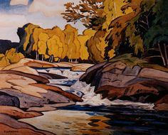 """Casson - was a member of the world famous """"Group of Seven"""" Canadian artists. Group Of Seven Art, Group Of Seven Paintings, Tom Thomson, Emily Carr, Landscape Art, Landscape Paintings, Watercolor Paintings, Watercolour, Canadian Painters"""