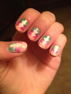 That Hipster Feeling by Julienne Renne  Easy Nail Design Diy Nails