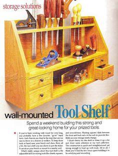 Tool Shelf Plans - Workshop Solutions
