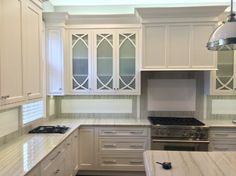 Designed by Cabinetics, this inset design is a beauty! The homeowner is ecstatic as well as friends and neighbors! The Gothic Mullion doors were custom made and shipped to Showplace for finishing. We do finish items not furnished by us. To learn more, we invite you to visit with your Showplace dealer. Thanks for making our cabinetry look great in New Jersey!  Cabinetics: http://www.cabinetics.net/ Learn more about Showplace inset cabinetry…