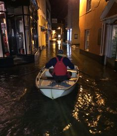 Overnight there was flooding in Salcombe, Devon. Homes have been evacuated in coastal areas as Britain braces for dangerous flooding as severe winds sweep in from the Atlantic.The Environment Agency has issued 21 of its most serious flood warnings advising of flooding and a risk to life across Wales and England.