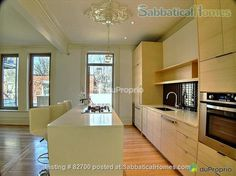 SabbaticalHomes - Home for Rent Montreal Quebec Canada, Downtown home: 4 bedrooms + Berlin, Montreal Quebec, Renting A House, Kitchen Cabinets, Canada, Flooring, Rue, Bedrooms, Houses
