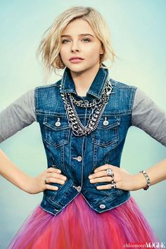 (Haley Tremaine in CHARMING) Chloe Moretz Teen Vogue Cover Story | Chloe Moretz Hot
