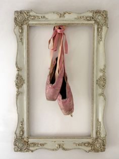 frame her first ballet shoes ....
