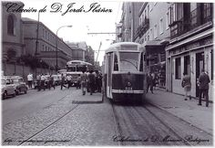 1960 Tranvía Fiat PCC de la linea 78 Estrecho-Fuencarral