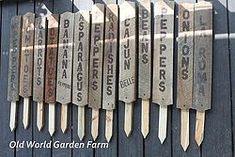 Making Garden Signs From Old Barn Wood - All of our garden and farm improvement projects can be found at: www.oldworldgardenfarms.com :If you have followed�