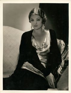 love myrna loy