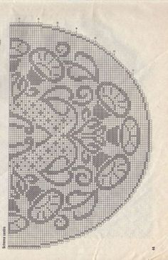 Filet Crochet, Knit Crochet, Sewing Projects, Projects To Try, Crochet Dollies, Crochet Designs, Knit Patterns, Doilies, Art Nouveau