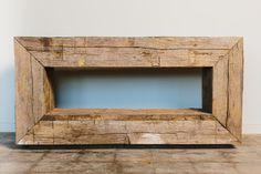 hewn console | reclaimed wood | Skylar Morgan Furniture + Design