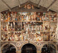 Gaudenzio Ferrari, Stories of life and passion of Christ, fresco, 1513, Church of Santa Maria delle Grazie, Varallo Sesia (VC), Italy.